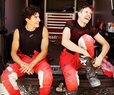 Gagal Finis di GP Teruel, Alex: Marquez Bilang Saya Harus Tetap Senang