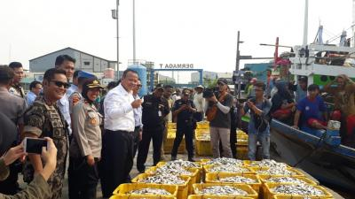 Menteri Edhy Beberkan Suksesnya Budidaya Kepiting di RI