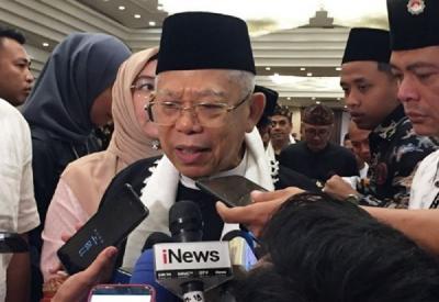 Merger 3 Bank Syariah, Ma'ruf Amin: Tak Ada Alasan untuk Khawatir