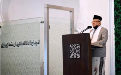 Ma'ruf Amin Ungkap Ekonomi Syariah RI Hasil Perjuangan Panjang