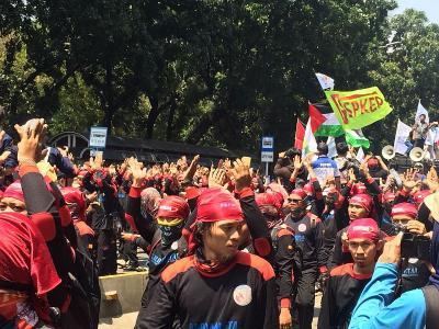 UMP Tahun Depan Tak Naik, Bos Buruh: Perlawanan Semakin Mengeras