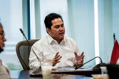 Erick Thohir Meracik Pembentukan Holding BUMN