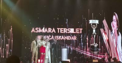 Menangkan Asmara Tersilet, Jessica Iskandar: Sedih Sekaligus Senang