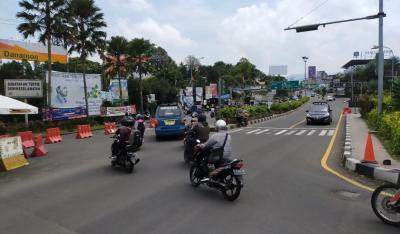 Jelang Siang, Lalin Jalur Puncak Bogor Sudah Normal Dua Arah