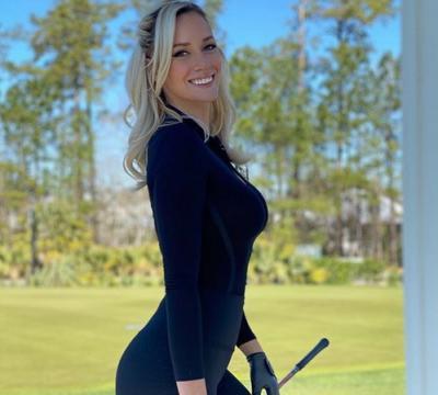 Pegolf Seksi Paige Spiranac Ternyata Tak Nyaman Gunakan Baju Ini