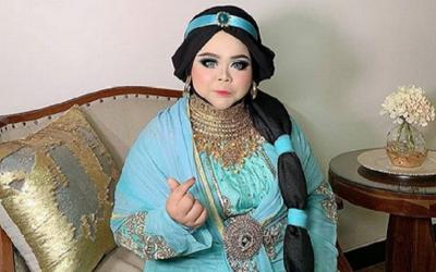 Viral Kekeyi Jadi Princess Jasmine, Netizen: Pangling!