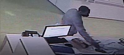 Aksi Pencurian HP di Sebuah Rumah Sakit Terekam CCTV