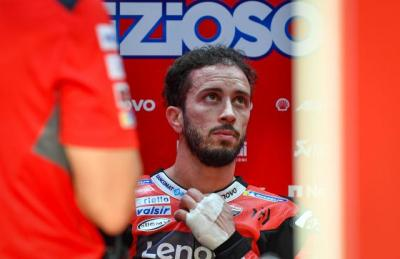 Dovizioso Ungkap Penderitaannya Selama Jadi Pembalap Ducati