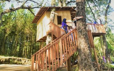 Wisata Kampung Enem, Tempat Outbound di Malang Paling Beken