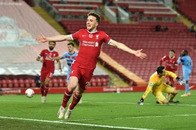 Gol Diogo Jota Bantu Liverpool Kalahkan West Ham 2-1