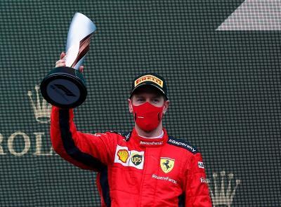 Naik Podium, Sebastian Vettel Raih Hasil Penting di F1 GP Turki 2020
