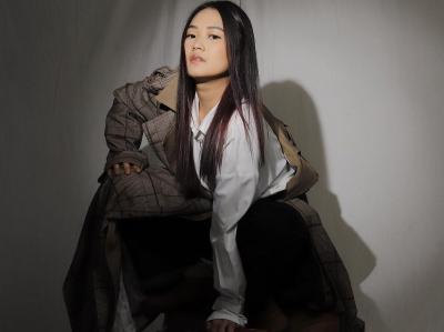 Pesona Becca Jadi 'Model' Usai Tereliminasi MasterChef Indonesia, Netizen: Hai Ibu Guru Cantik