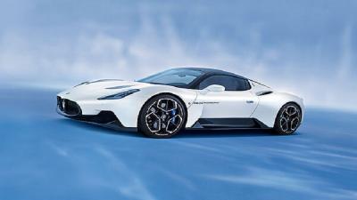 Maserati MC20 Dinobatkan sebagai Mobil Sport Terbaik di China