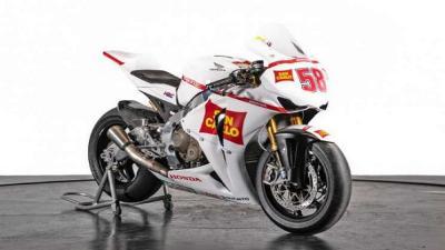 Motor Bekas Pembalap Simoncelli Dijual Rp807 Juta