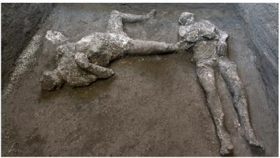 Arkeolog Temukan Kerangka Tuan dan Budak Zaman Romawi Kuno