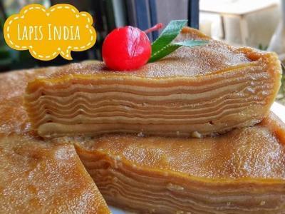 Resep Kue Lapis India, Jajanan Pasar Khas Banjarmasin yang Manis dan Lembut