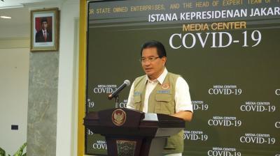 Satgas: Angka Kesembuhan Pasien Covid-19 di Indonesia Capai 84%