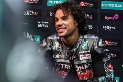 Sabet Posisi Dua di MotoGP 2020, Morbidelli Siap Kembali Bersaing Musim Depan