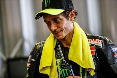 Valentino Rossi Sering Ketiban Sial di MotoGP 2020