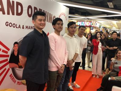 Bisnis Anak Presiden Disuntik Dana Rp28 Miliar, Gibran: Ini Hadiah untuk Kaesang