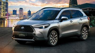Bidik Pasar Thailand, Toyota Luncurkan Corolla Cross 2022