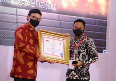 Menteri Tjahjo Serahkan Penghargaan Top 15 Pengelola Pengaduan Pelayanan Publik 2020
