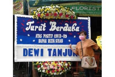 Habib Rizieq Sempat Dikabarkan Positif Corona, Politikus PDIP Dewi Tanjung Kirim Bunga Duka Cita