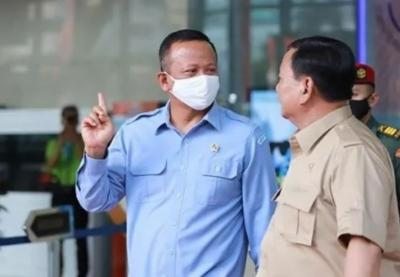 Menhan Prabowo: Edhy Itu Tukang Masak, Cuci Baju dan Beberes Rumah Saya yang Jadi Menteri