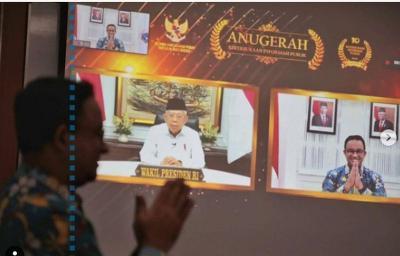 Jakarta Dinobatkan Pemda Informatif, Anies: Alhamdulillah, 3 Tahun Berturut-turut