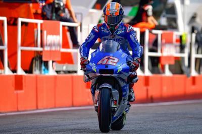Alex Rins Puas dengan Pencapaiannya di MotoGP 2020