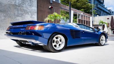 Mobil Antik Cizeta V16T Milik Sultan Brunai Dijual Rp10,2 Miliar
