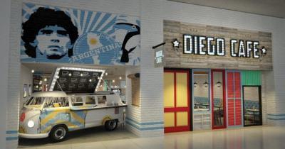 Melihat Kafe Diego Maradona di Abu Dhabi