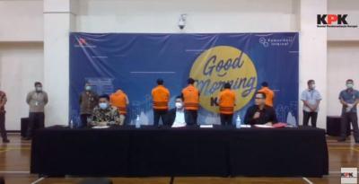 Usai Ditetapkan Tersangka, Edhy Prabowo Langsung Ditahan KPK