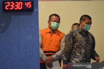 Jadi Tersangka KPK, Edhy Prabowo: Ini Kecelakaan, Saya Bertanggung Jawab
