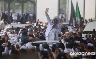 Apa Kata FPI jika Habib Rizieq Dijerat UU Karantina Kesehatan?