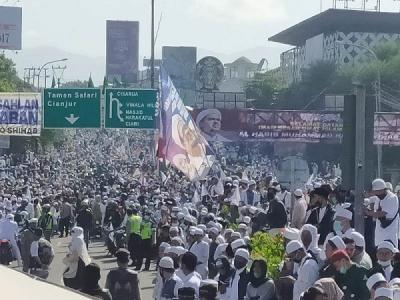 Satgas Covid-19 Limpahkan Kasus Kerumunan Habib Rizieq di Megamendung ke Polisi
