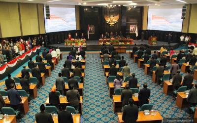 Gelar Paripurna, DPRD dan Pemprov DKI Sepakati APBD 2021 Rp82,5 Triliun