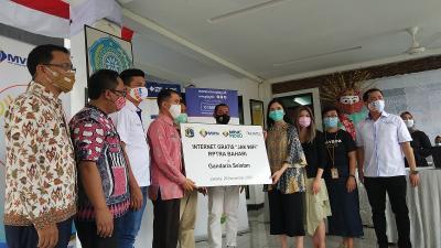 MNC Peduli Gandeng Pemprov DKI dan APJATEL Sediakan Wifi Gratis di RPTRA Bahari