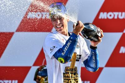 Tak Takut Tantang Marquez di MotoGP 2021, Joan Mir Siap Tingkatkan Performa