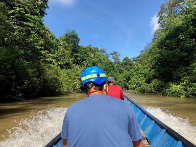 Menikmati Lukisan Alam di Sungai Jelai-Bengalon Sangkulirang