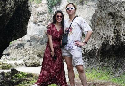 Liburan Singkat Tissa Biani ke Bali Bareng Pacar dan Calon Mertua