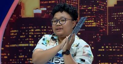 Bawa Boneka, Gayatri Chandra Dapat Titanium Ticket Indonesian Idol