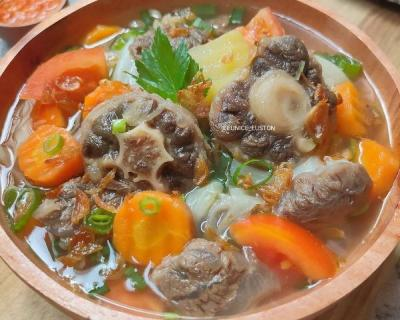 Resep Sop Buntut Sengkel, Cocok Disantap saat Cuaca Dingin