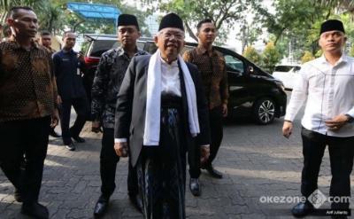 Wapres Ma'ruf Amin: Belum Ada yang Mampu Jadi Imam Umat Islam!