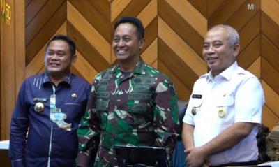 KSAD Siap Kerjasama untuk Bangun RS TNI AD di Bekasi