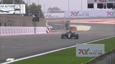Hasil Latihan Bebas 1 F1 GP Bahrain 2020, Hamilton Asapi Bottas