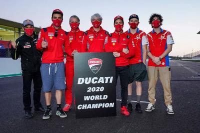 Ducati Sabet Gelar Juara Konstruktor MotoGP 2020, Domenicali: Ini Hadiah!