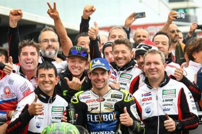 Berpisah dengan Crutchlow, Cecchinello: Dia Pembalap Terbaik LCR Honda