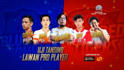 Semifinal Esport Star Indonesia : Uji Tanding Lawan Pro Player Kelas MPL