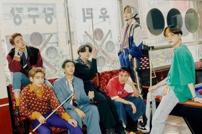 Penjualan 'BE' Capai 2,2 Juta Kopi, BTS Untung Rp1,1 Triliun